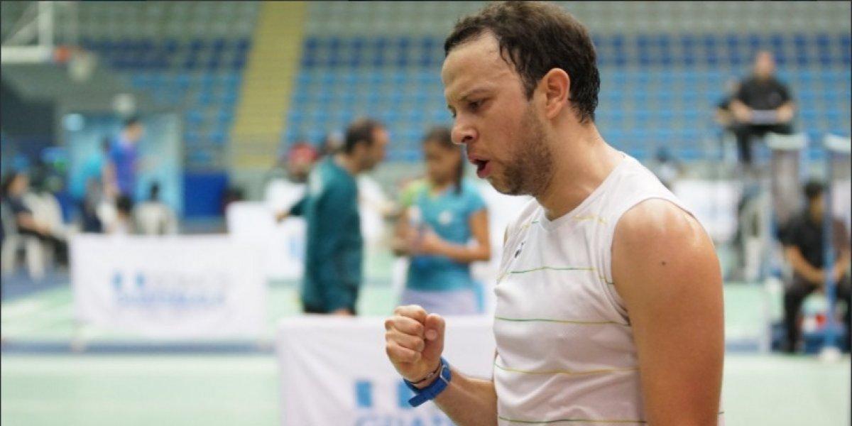Kevin Cordón suma su segunda victoria en el Panamericano de Bádminton