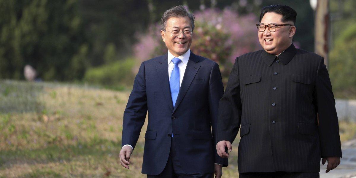 ¿Mejores amigos?: Kim Jong-un se vuelve a reunir con el presidente de Corea del Sur en menos de un mes
