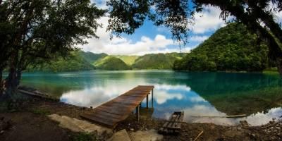 Laguna Brava, en Huehuetenango