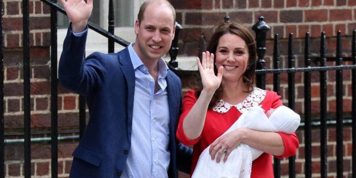Finalmente, los duques de Cambridge anuncian nombre de su tercer hijo