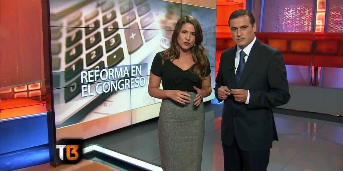 """""""Sean nuestros rostros"""": Trabajadores le piden a animadores y conductores de noticias de Canal 13 que los defiendan en pantalla"""