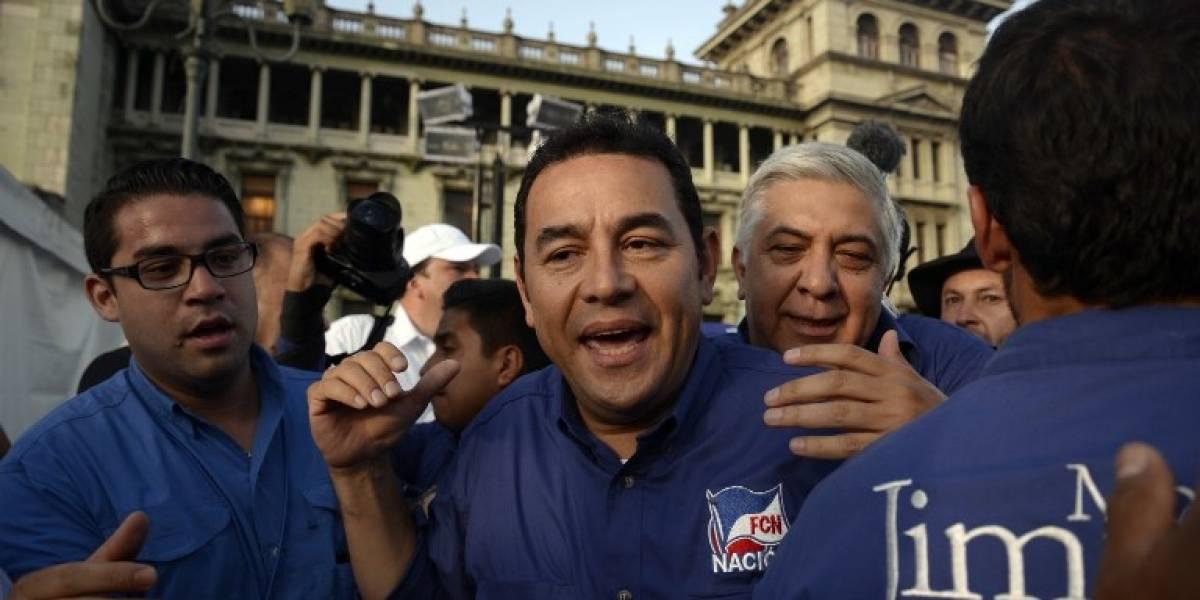 MP solicita formalmente al TSE cancelar partido que llevó a la presidencia a Jimmy Morales