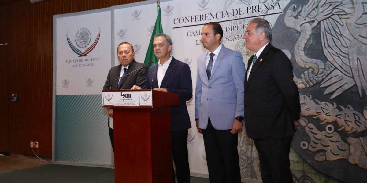 Mancera presenta ante diputados propuesta de reglamentación para gobiernos de coalición