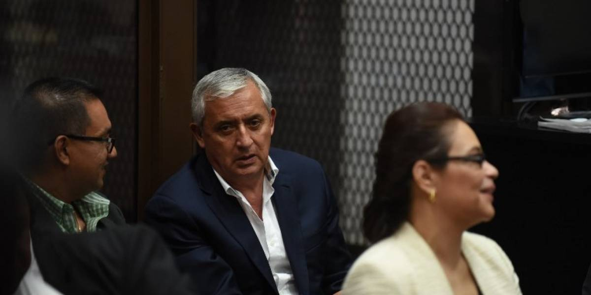 MP presenta acción de extinción de dominio de sociedad vinculada a Baldetti y Pérez Molina