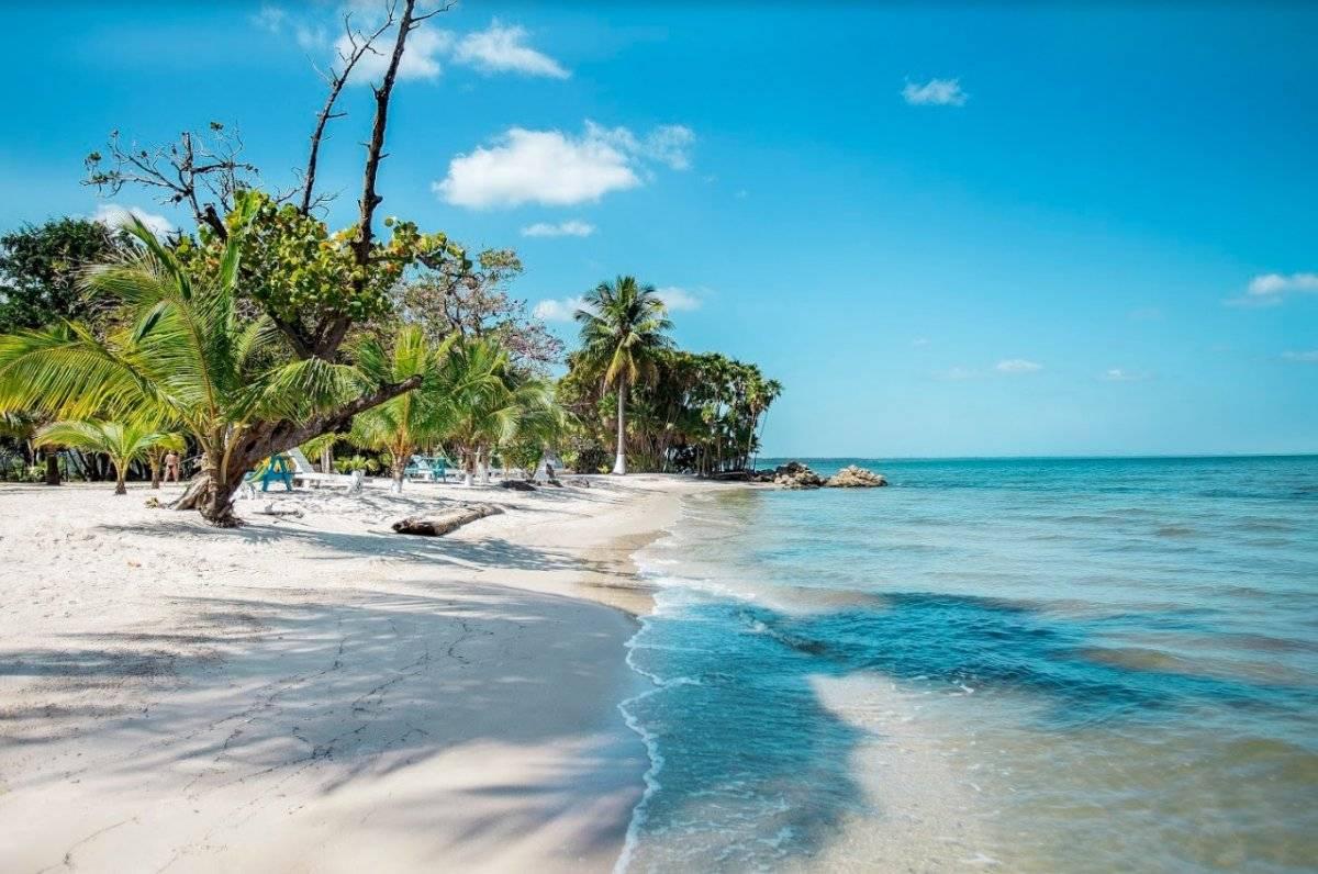 Playa Blanca, en Izabal Foto: Inguat