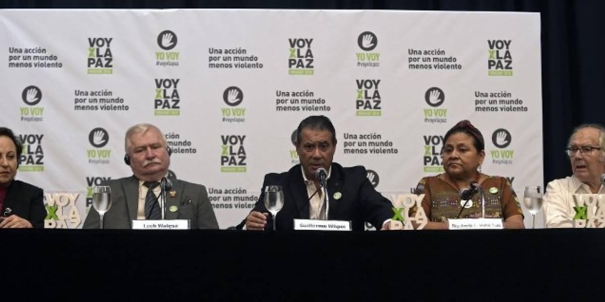 Premios Nobel se dan cita en Montevideo para promover paz en la región