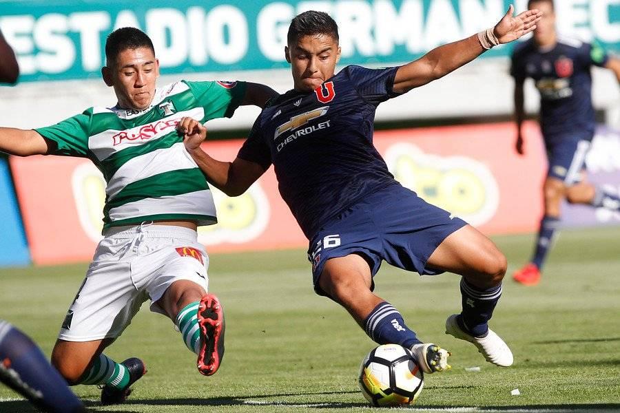 Diego Cayupil es el encargado de sumar los minutos Sub20 en Temuco / Photosport