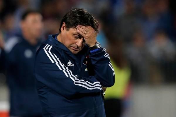 El técnico argentino no va más en Universidad de Chile / imagen: Photosport