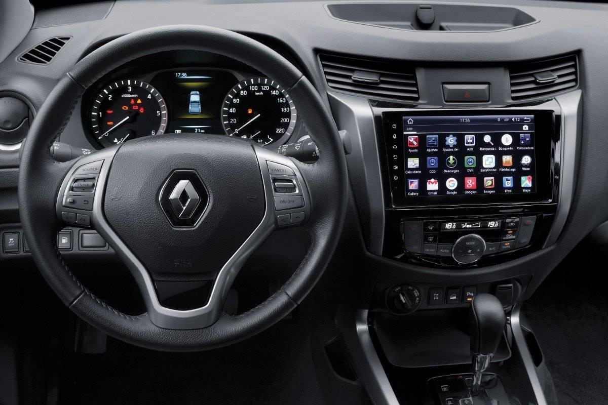 Renault Alaskan Media Nav