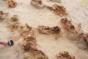 Sacrificio niños en Perú