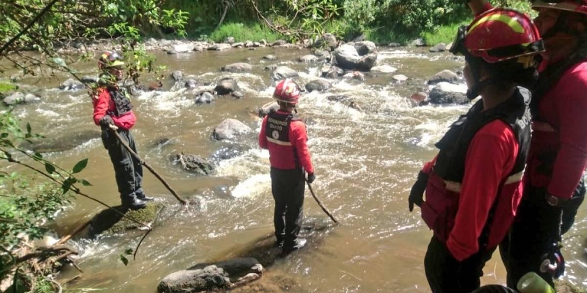 Bomberos recupera cuerpo en el sector del Puente del Chiche