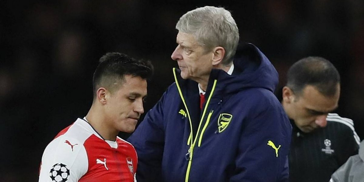 """Wenger ya palpita el reencuentro con Alexis: """"Es extraño verlo con otra camiseta"""""""