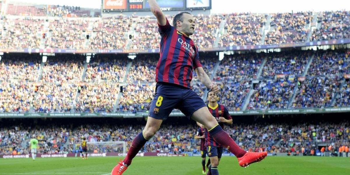 VIDEO: Los mejores goles de Iniesta con el Barcelona que no puedes perderte