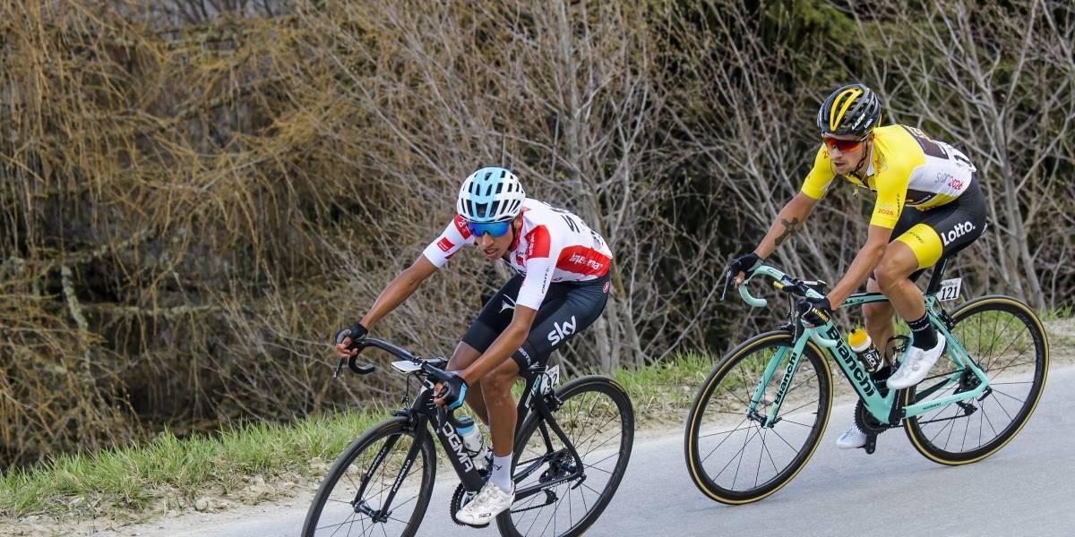 Egan Bernal sale de la clínica pero se pierde la Vuelta a España
