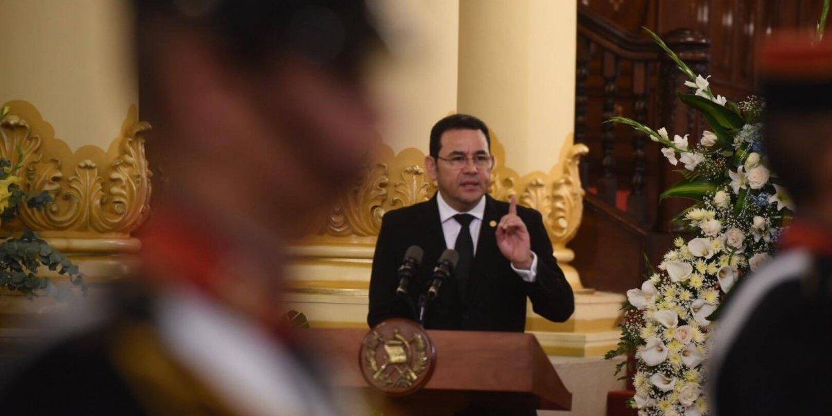 """Presidente acerca de Arzú: """"Su carácter combativo siempre fue de un solo ánimo, nunca tuvo un doble discurso"""""""