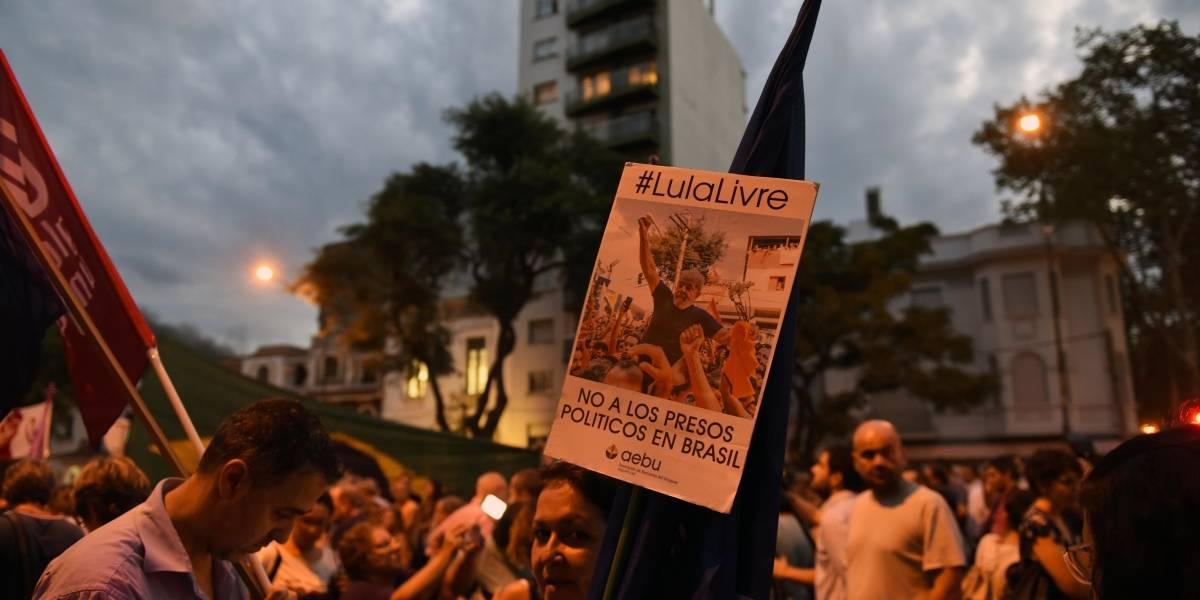 Dos heridos tras balacera contra campamento en defensa de Lula en Brasil