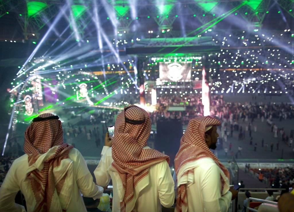 """Se celebró el evento """"Greatest Royal Rumble"""" en la ciudad de Yeda, en Arabia Saudita Foto: AP"""