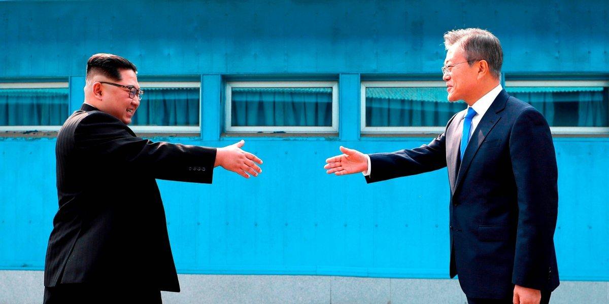 "Visita de Kim Jong-un a Corea del Sur es un ""logro inmortal"": prensa norcoreana"