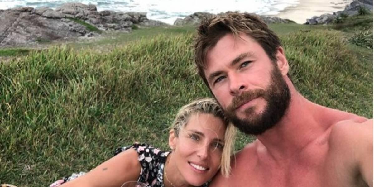Chris Hemsworth confesó que finge cuando está en la intimidad con su esposa