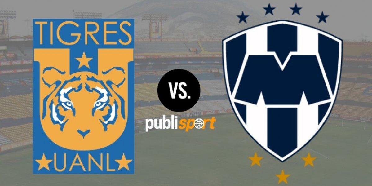 EN VIVO: Tigres y Monterrey se reparten los puntos en el Clásico Regio