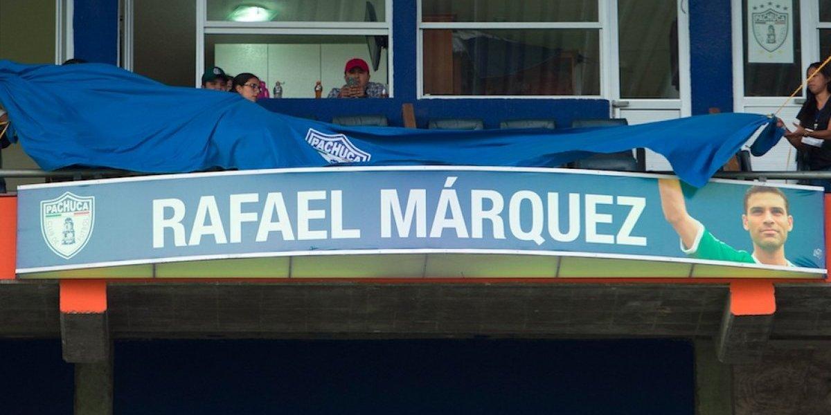 VIDEO: Estadio Hidalgo inmortaliza el nombre de Rafael Márquez