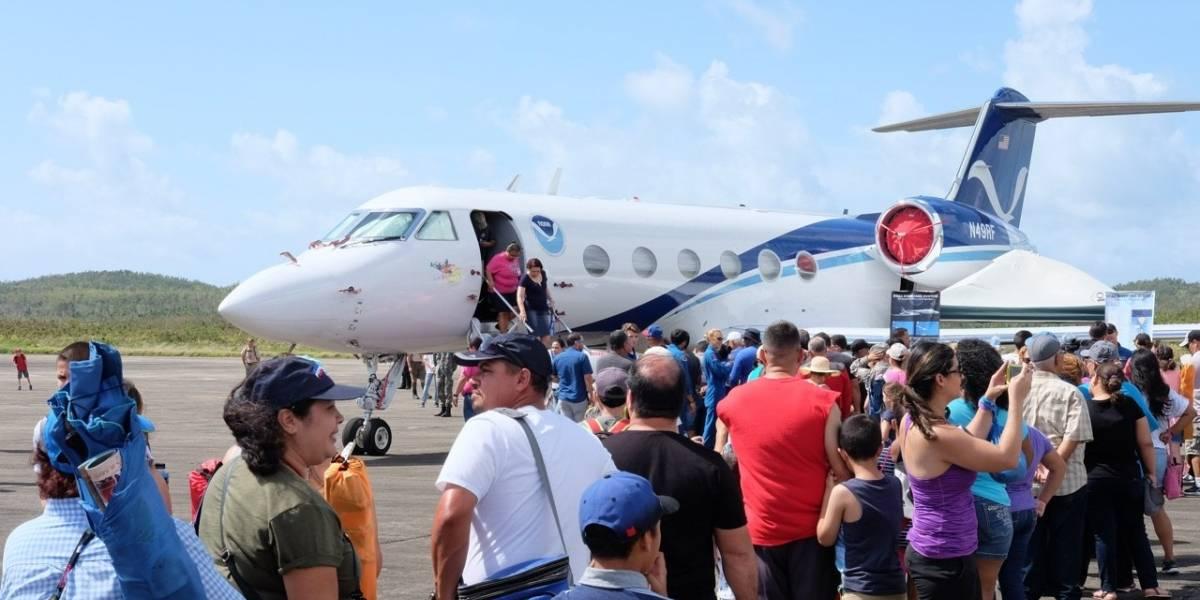 Recorrido por los nuevos aviones caza huracanes de la NOAA