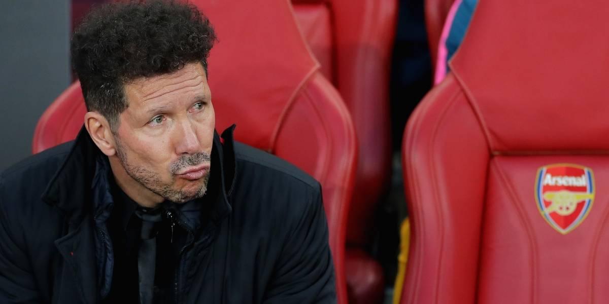 Trollean a televisora por colocar al 'Cholo' Simeone como técnico del Real Madrid