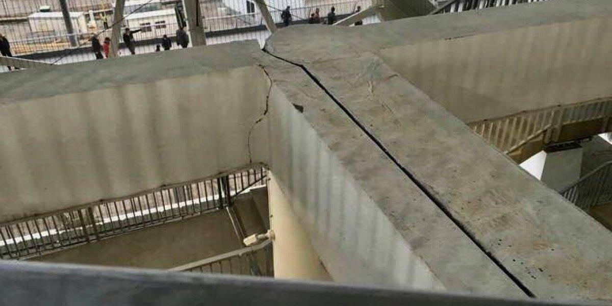 Estadio del Mundial de fútbol ya tiene grietas y no se ha inaugurado