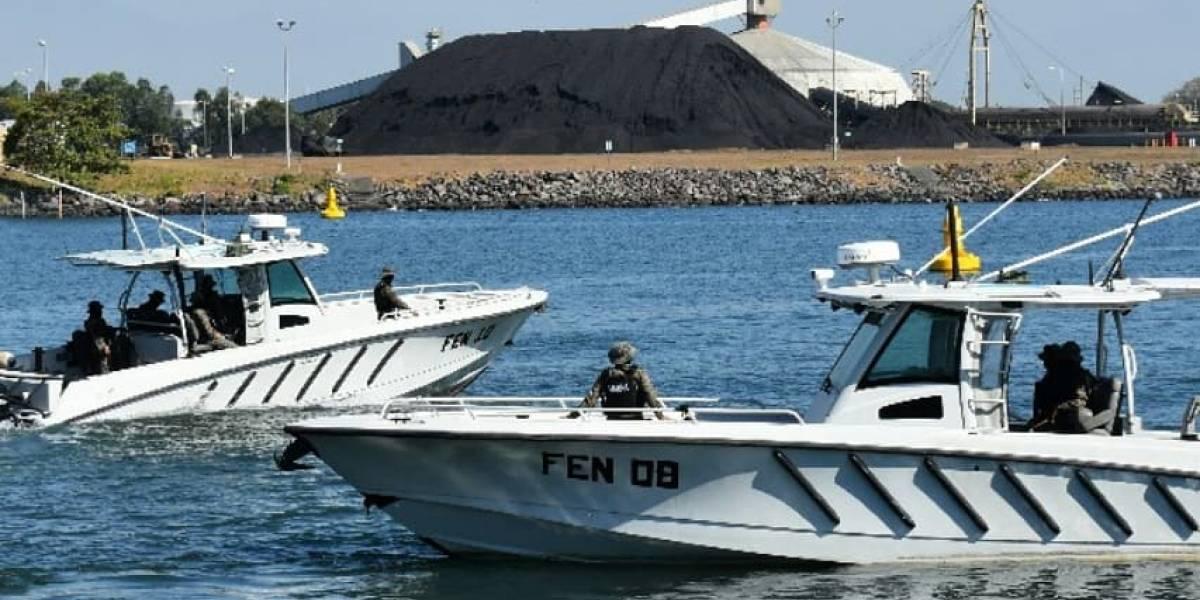 Ejército localiza posibles ilícitos en aguas internacionales