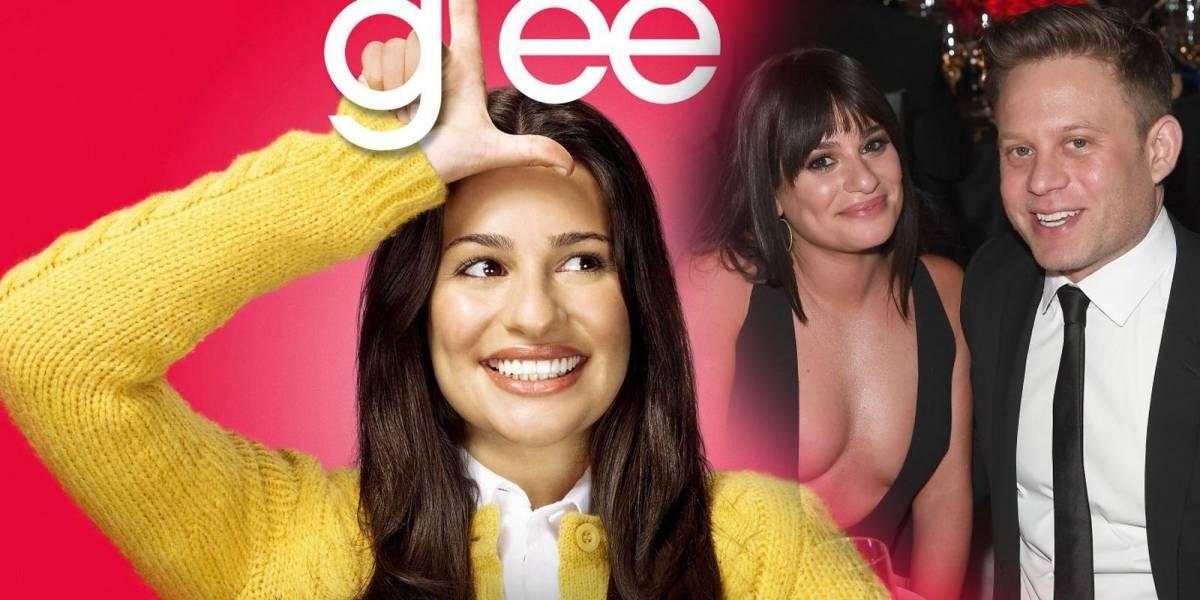 Se casa la protagonista de Glee, Lea Michelle, a menos de un año de noviazgo