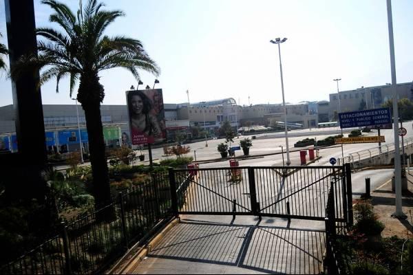 Mall cerrado