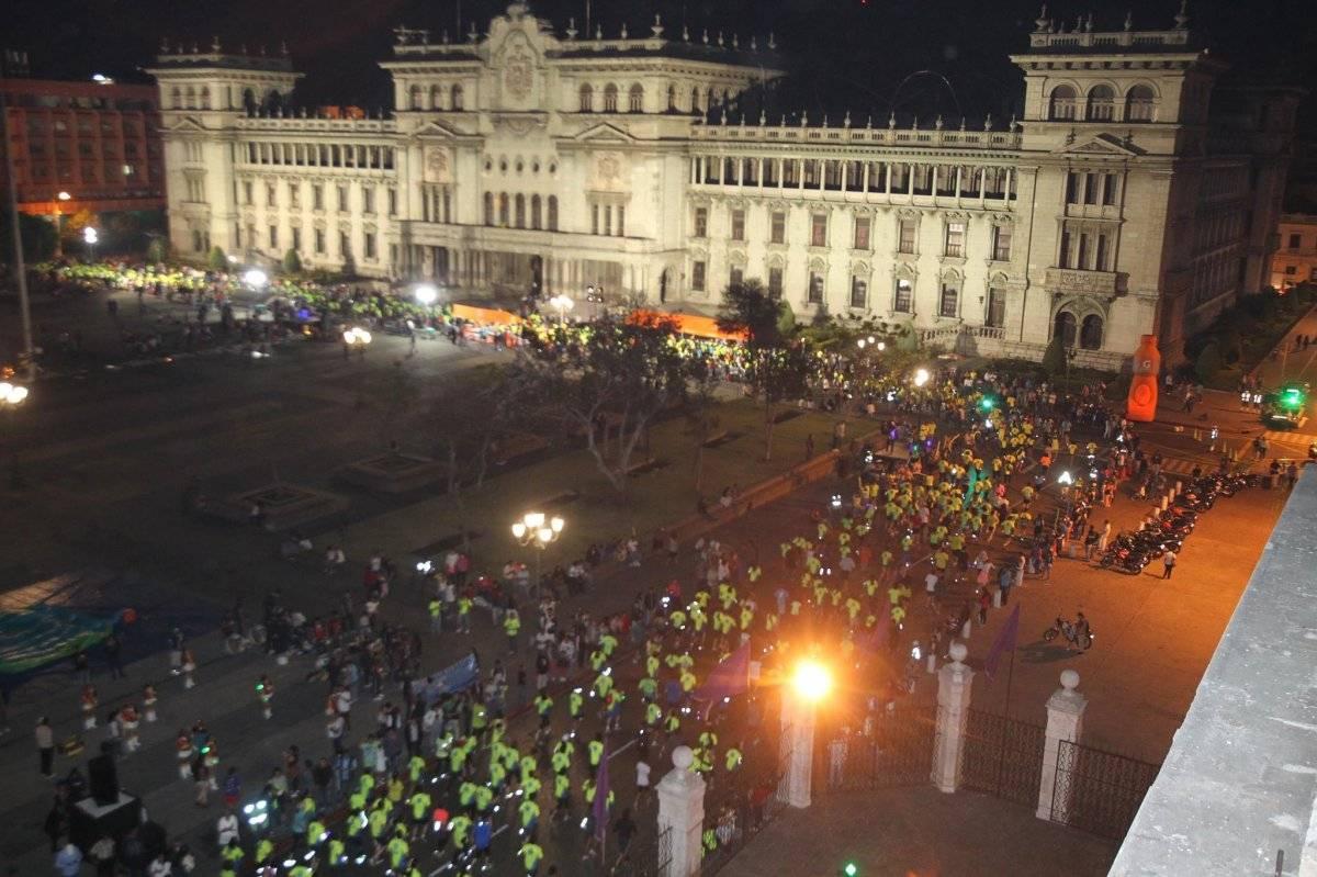 El Palacio Nacional luciendo sus mejores galas