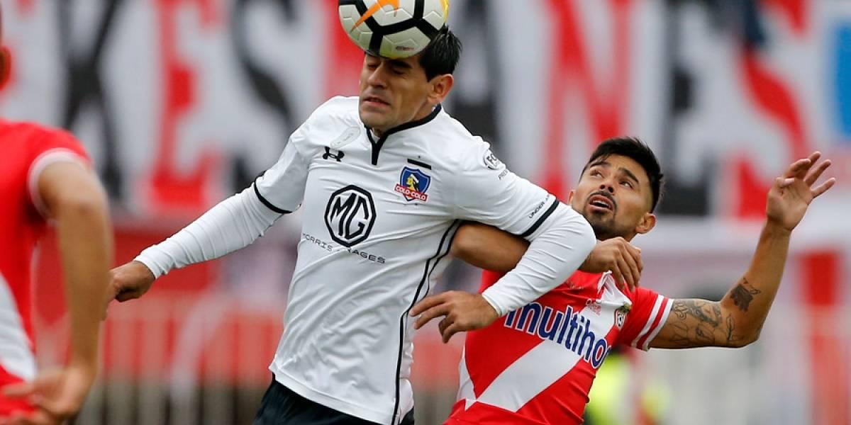 Julio Barroso salió del congelador y volvió a la titularidad en Colo Colo