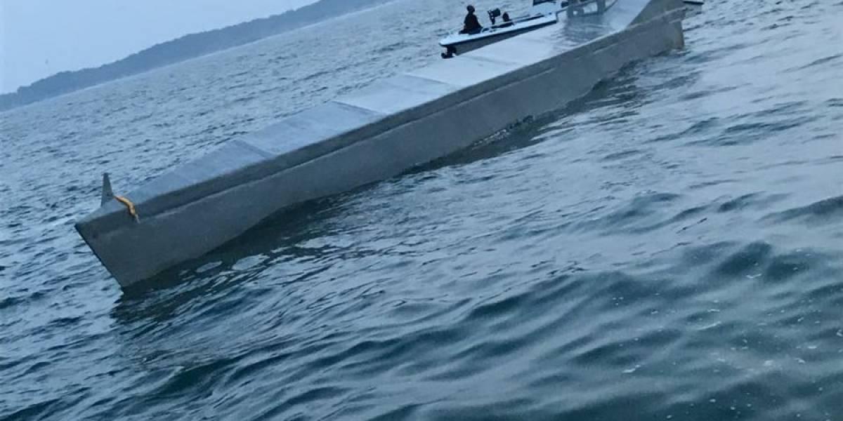 Submarino trasladaba cargamento de cocaína valorado en más de US$13 millones