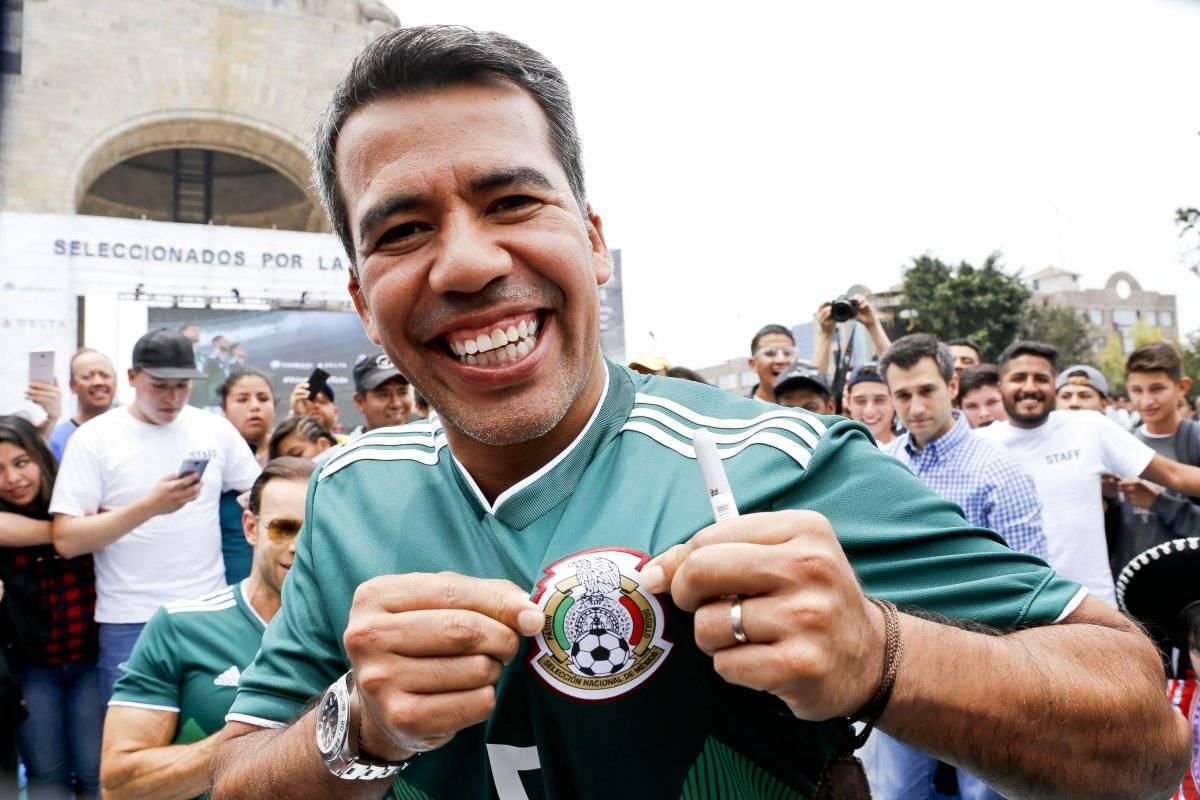 Los tres mundialistas esperan que México llegue al quinto partido en Rusia |JUAN CARLOS CERDA