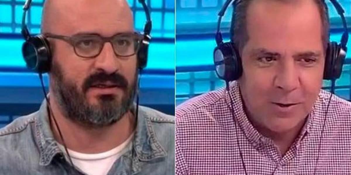 Luis Arturo Henao 'le voló la piedra' a Alejandro Pino en Fox Sports Radio Colombia