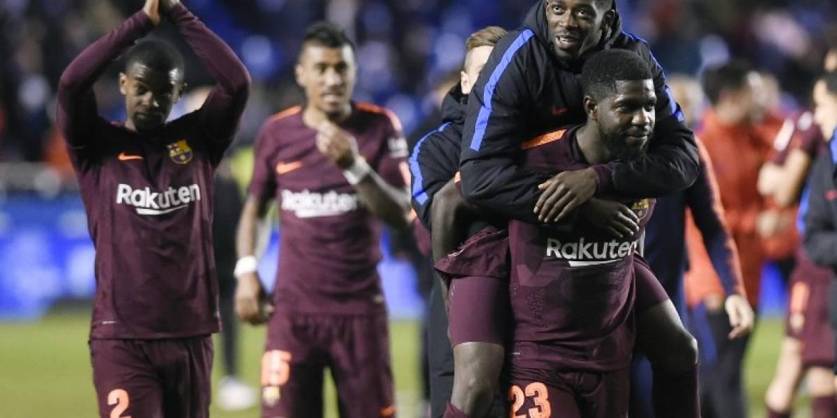 Barcelona golea al Depor y se corona campeón de Liga