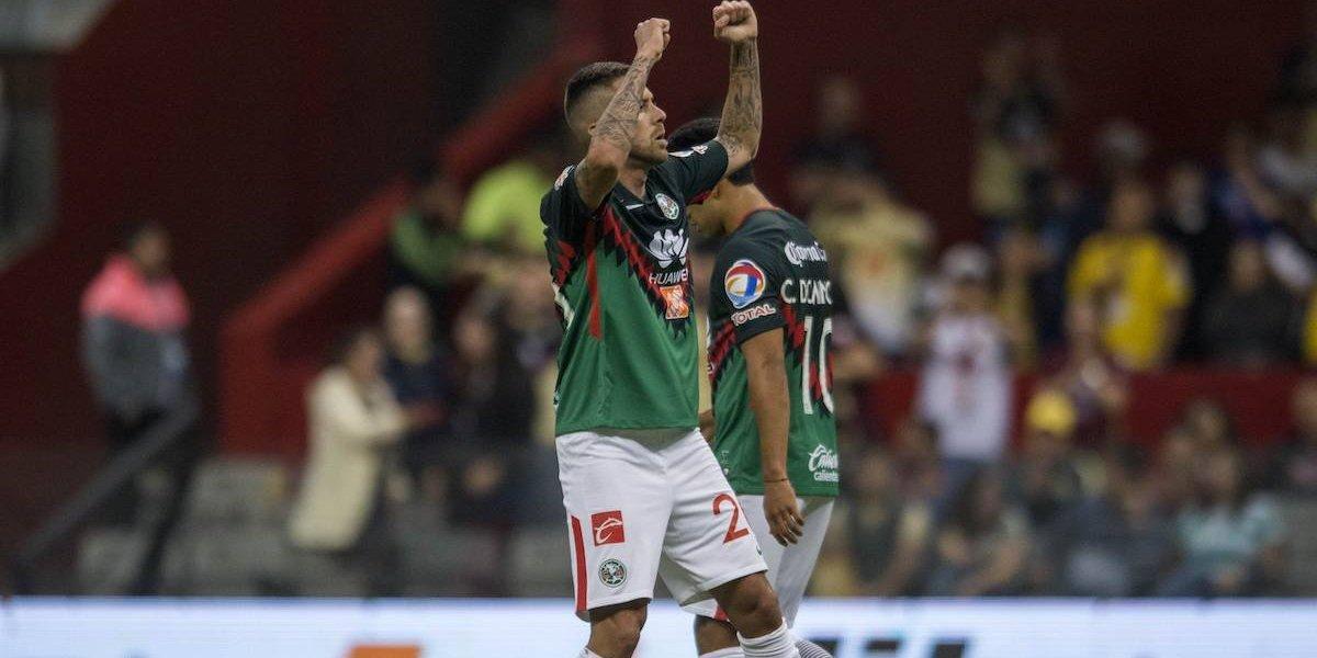Con penal, América se queda con el subliderato de la Liga MX