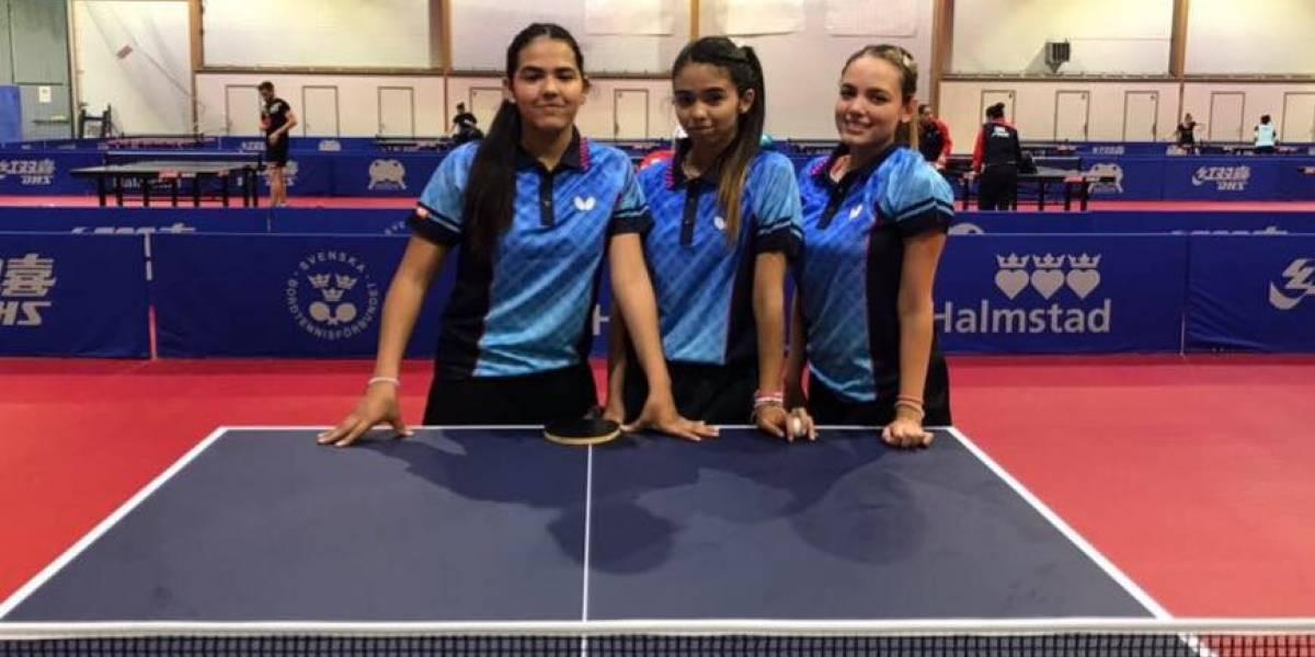 Equipo femenino comienza con victoria en Mundial de Tenis de Mesa