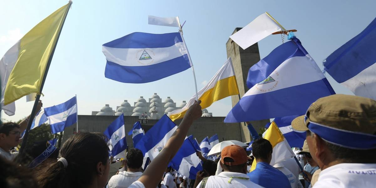 Así fue el primer diálogo nacional por la paz en Nicaragua