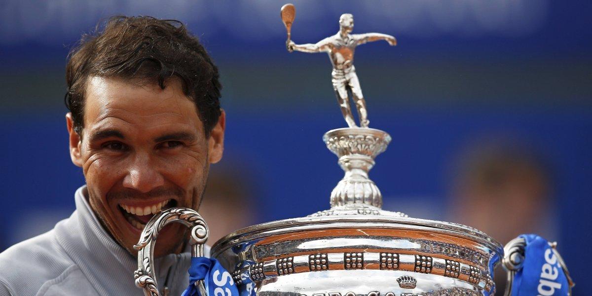 """Rafael Nadal imparable: ganó en """"su propio estadio"""" y conquistó nuevamente el ATP de Barcelona"""