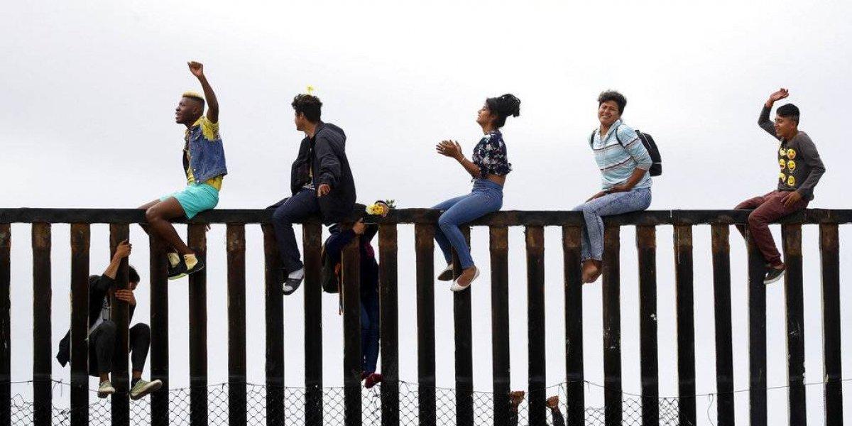 FOTOS: Los rostros de la caravana migrante en la frontera de EU