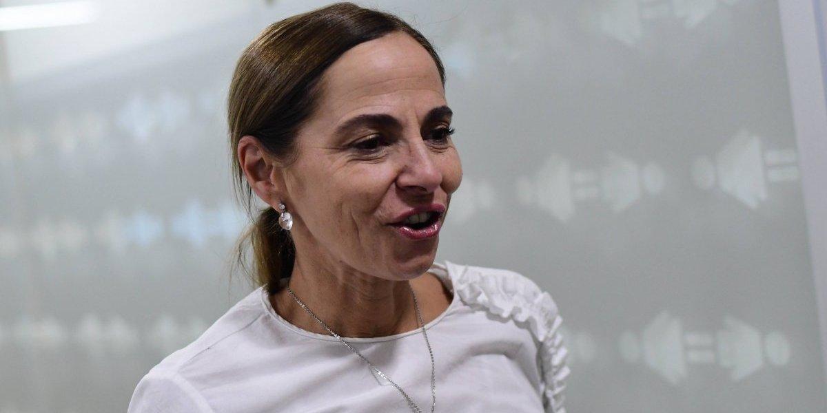 """Ministra de la Mujer se refiere al caso Abreu: """"Mi solidaridad con las mujeres que deciden romper el silencio"""""""
