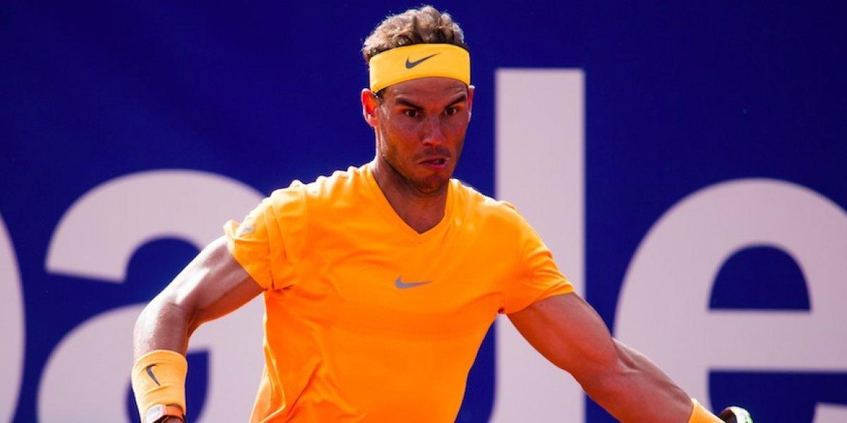 Rafael Nadal continúa imparable y se corona en Barcelona