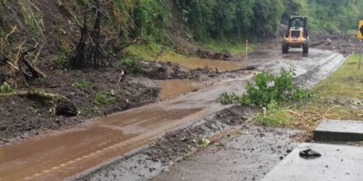 El ECU 911 informó que la vía Baños - Puyo se encuentra habilitada