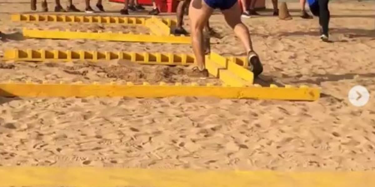 ¡Este concursante de Exatlón será papá en medio de la competencia!