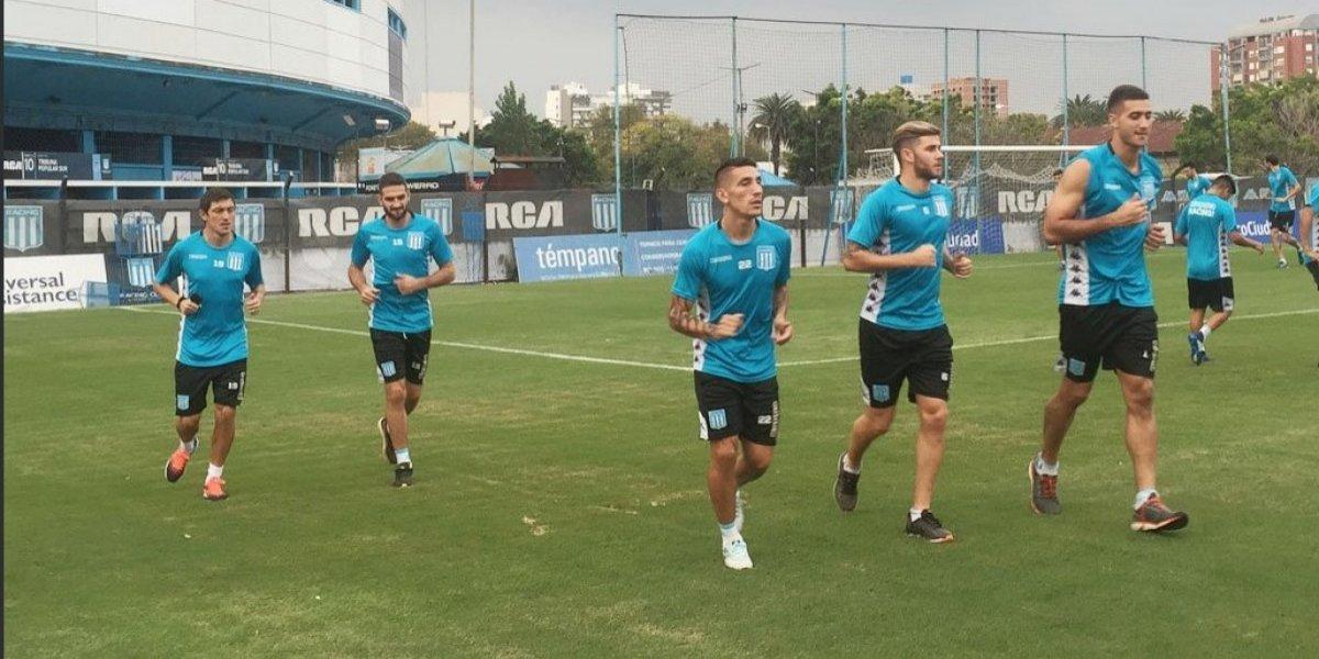 Racing llegará descansado al partido con Universidad de Chile por Libertadores
