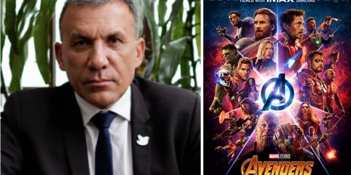 Roy Barreras se pronuncia en contra de la última película de Avengers y desata risas