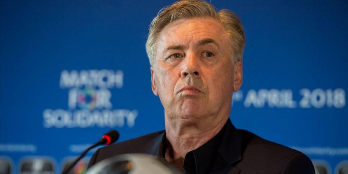 Ancelotti recusa comandar seleção da Itália, diz jornal