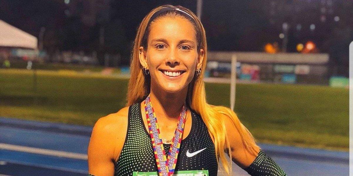 Isidora Jiménez logra el oro tras ganar los 100 metros planos en el Grand Prix de Medellín